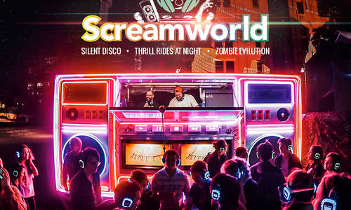 Silent Disco and Ride Express firsts for this week's Screamworld