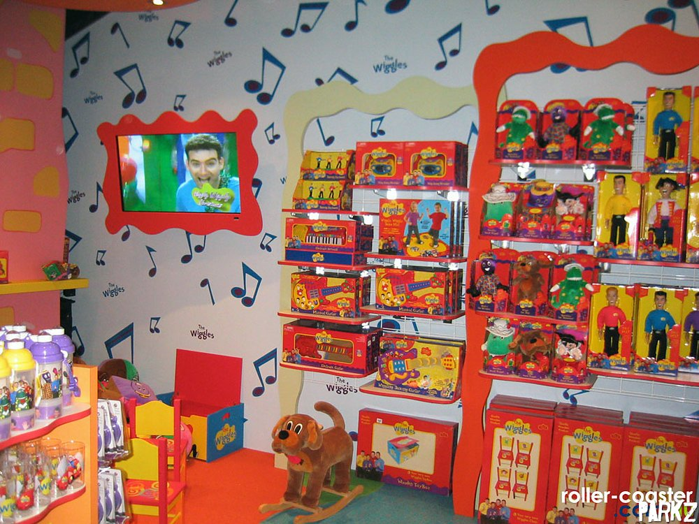 The Wiggles Toys R Us : Wiggles world parkz theme parks
