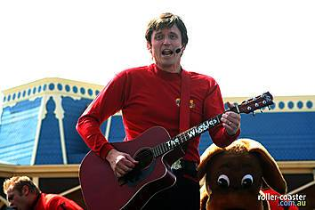 Pin The Wiggles Red Starry Guitar Images To Pinterest