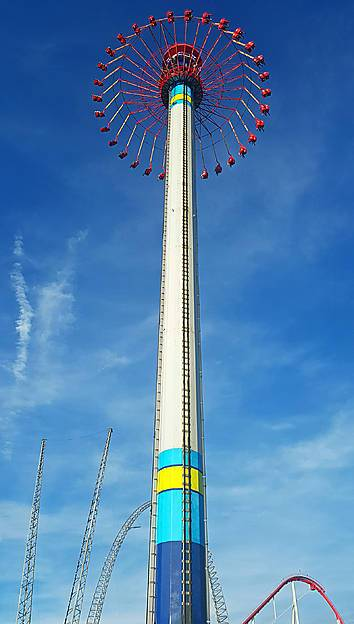 photos of windseeker at carowinds parkz theme parks